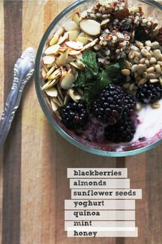 Quinoa Breakfast Bowl ♥ Yum!!