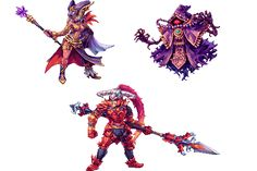 Vilains Hyrule Warriors by Abysswolf