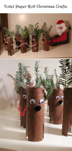Toilet Paper Roll Christmas Crafts | Crafts and DIY Community