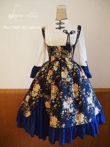 Ladylike Melody 中华风LOLITA 熏香衬衫的图片