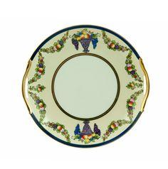 Vintage Noritake Plate, Art Deco Cake Plate, Japanese Porcelain, Fruit Compote…