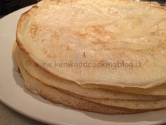 Impasto crepes dolci e salate Kenwood