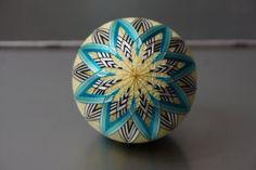 Temari Ball by EmbroideryTemari on Etsy