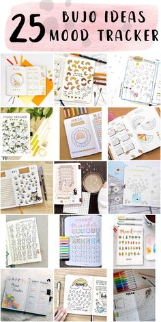 Fun Bullet Journal Mood Tracker Spreads For Beginners - Goals Bullet Journal Bullet Journal Beginning, Bullet Journal Daily Spread, Bullet Journal Mood Tracker Ideas, Bullet Journal Writing, Planners For College Students, Tacker, Do You Remember, New Hobbies, Understanding Yourself