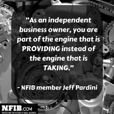 Jeff Pardini, a small business owner, is a member of NFIB's Leadership Council.