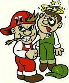 Never piss off an IH guy Case Ih Tractors, Farmall Tractors, John Deere Tractors, International Tractors, International Scout, International Harvester, Farm Jokes, Farm Humor, Cub Cadet Tractors