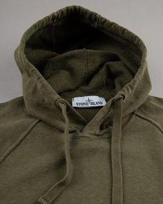 Washed hoodie from Stone Island | Dantendorfer online shop