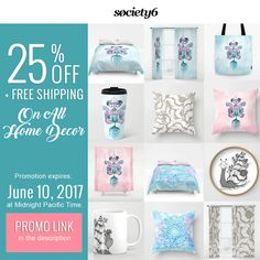PROMO LINK: https://society6.com/shaynart/pillows?promo=T2JCW86H9223     #sale #promotion #donikanikova #society6 #pillow #clock #shower #curtain #duvet #cover #mug #mugs #pillows #home #decor #interior #design #bag #Bags #mandala #art #meditation #love #beautiful #gift #gifts #idea #ideas