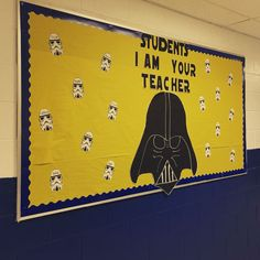 Yes, I am product of the Star Wars has insinuated itself into my DNA. Thanks to Disney making a while new set movie, it bridges generations. Love it or hate, nearly everyone between 6 and 60 have an opinion about Star Wars Space Classroom, Classroom Bulletin Boards, Classroom Displays, School Classroom, Classroom Themes, Disney Bulletin Boards, Maths Display, Preschool Bulletin, Classroom Design