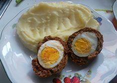 """""""Pštrosí"""" vejce recept - TopRecepty.cz Eggs, Breakfast, Food, Morning Coffee, Essen, Egg, Meals, Yemek, Egg As Food"""
