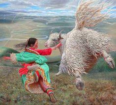 летающий дух Тибета