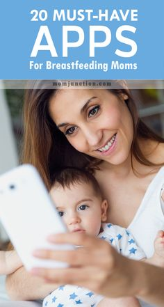 20 Must-Have Apps For #Breastfeeding Moms: here is out collection of top android, Iphone and Ipad apps that can help make breastfeeding easier for you and your little angel.