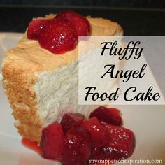Angel Food Cake 11 eggs is about 1 cups of egg whites Baking Recipes, Cake Recipes, Dessert Recipes, Baking Ideas, Dessert Ideas, Yummy Recipes, Yummy Drinks, Delicious Desserts, Yummy Food