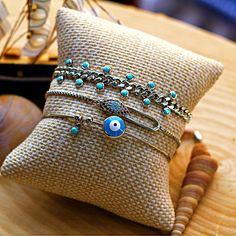 Initial Bracelet, Bracelet Set, Bracelet Making, Dainty Bracelets, Custom Jewelry Design, Initials, Minimalist, Rose Gold, Sterling Silver