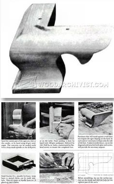 Making Ogee Bracket Feet - Furniture Leg Construction | WoodArchivist.com