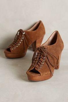 Jeffrey Campbell Roosevelt Heels Grey Heels  #anthrofave #anthropologie