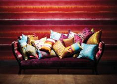 Harlequin - Designer Fabric and Wallcoverings   Kallianthi Wallpapers by Clarissa Hulse