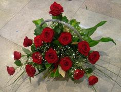 Cosulet cu trandafiri