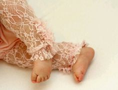 Baby girl lace tights