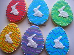 Easter sugar cookies - The Blue Cottage