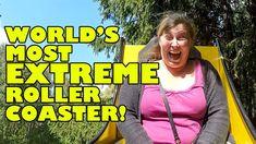 World's Most EXTREME Roller Coaster!!! OMG! CRAZY! INTENSE! WILD!