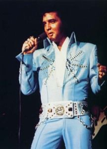 Elvis Presley In Concert... Aztec Star aka Tiffany jumpsuit