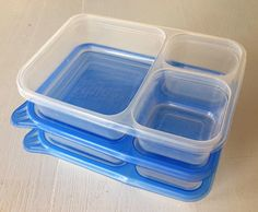 Better way to pack lunches sans the plastic baggies~My Favorite School Lunch Supplies