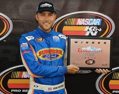 Ryan Partridge began his dominating performance of the NAPA Auto Parts 150 at Colorado National Speedway by winning his first Coors Light Pole Award