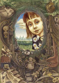 Alice's Adventures in Wonderland  Illustrated by Oleg Lipchenko