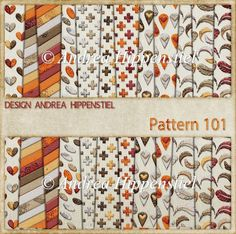 Backing Paper Pattern 101 - £2.00 : Instant Card Making Downloads