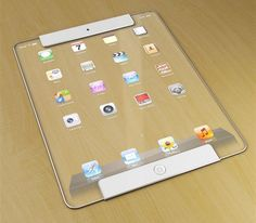 Transparent Apple iPad Concept