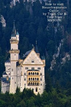 Neuschwanstein is a dream destination for many. Make that dream a reality with a day trip from Munich. Visit by train, car and tour from the Bavarian capital. We have the EXPERT advice and RECOMMENDATIONS for you. | Neuschwanstein Castle Germany | fairytale castle Germany | visit Neuschwanstein Castle | #Bavaria #castle #Germany #Neuschwanstein #familytravel