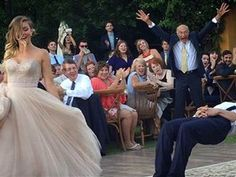 Watch this magician's unbelievable, gravity-defying wedding dance routine