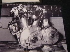Burt Monroe's Hand Made Indian Engine