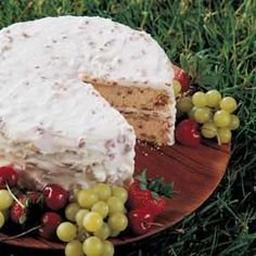 Butter Pecan Cake Recipe...double the frosting recipe