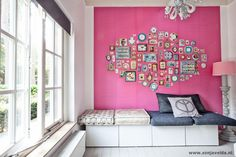 Montage: Pink Living Rooms