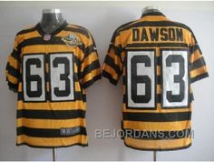 http://www.bejordans.com/free-shipping-60-off-nike-pittsburgh-steelers-63-dawson-yellow-blackteam-80-anniversary.html FREE SHIPPING ! 60% OFF! NIKE PITTSBURGH STEELERS #63 DAWSON YELLOW BLACK(TEAM 80 ANNIVERSARY) Only $20.00 , Free Shipping!