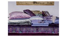 Etro Home Autumn/Winter 15/16 Collection. Available at Showroom MOOD. #mood #etro #etrohome #pillows #purple #lavender