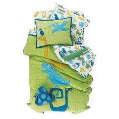The Land of Nod | Kids Bedding: Kids Dinosaur Bedding Comforter Set in Boy Bedding