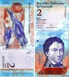 Venezuela- a picture of Venezuelan currency