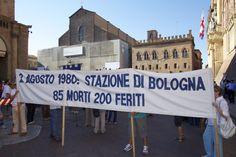 commemorazione della strage di bologna del 2 agosto 1980