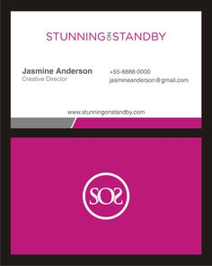 Create a fun and engaging logo and business card for beauty servicescompany Stunning on Standby! by darma80