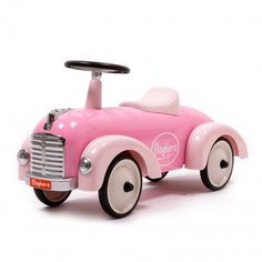 Baghera Ride-on Speedster - Pink `One size Age : From 1 to 3 years old * Fabrics : Metal * Color : Pink * Length 75 cm x width 25 x Height 37 cm Seat height : 26 cm * Weight : 5,5 kg * Conforms to CE standards * For use with adult supervision, http://www.MightGet.com/january-2017-13/baghera-ride-on-speedster--pink-one-size.asp