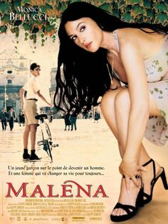 Malena by Giuseppe Tornatore **** A woman provokes sensual awakenings in a group of adolescent boys.