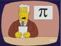 Kent Brockman y π