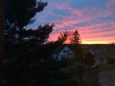 Sunset #Melrose #northshore