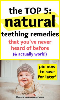These are the most powerful and effective natural teething remedies for soothing pain. They also offer tons of additional health benefits! Breastfeeding And Bottle Feeding, Natural Teething Remedies, Baby Must Haves, Newborn Care, Natural Baby, Baby Hacks, Getting Pregnant, Having A Baby, Natural Treatments