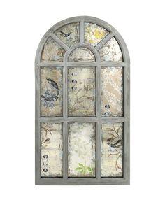 Ella Elaine Antiqued Wall Mirror at MYHABIT
