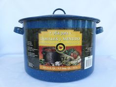 Granite Ware Tamale Steamer Soup Pot With Insert Made in Mexico 11 5/8 Quarts #ColumbianHomeProducts