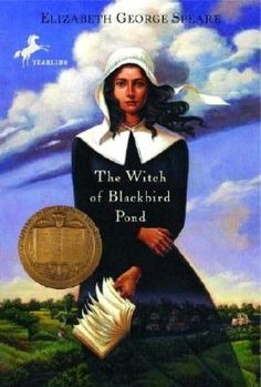 The Witch of Blackbird Pond. love love love this book. great historical fiction :) takes place during salem witch trial times
